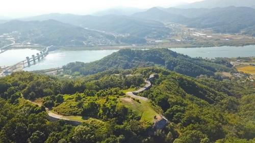 俯瞰婆娑城(韩联社记者成演在摄)