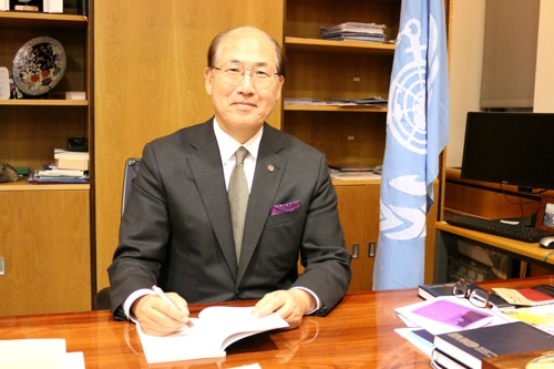 林基泽连任国际海事组织秘书长