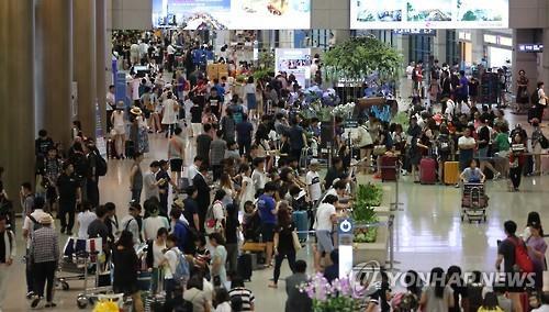 韩10月航空旅客吞吐量超千万创历年同月新高