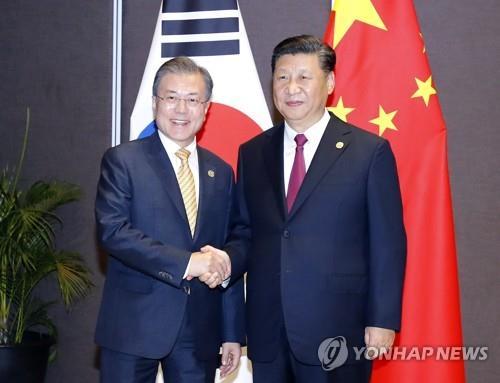 消息:明年韩中领导人有望互访