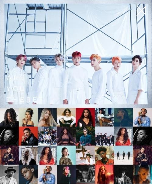 "MONSTA X入围潘多拉""2019最值得瞩目的音乐家""名单。(潘多拉官网截图/STARSHIP娱乐供图)"