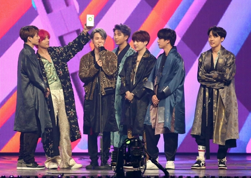 BTS获2018MMA音乐颁奖礼7奖成最大赢家