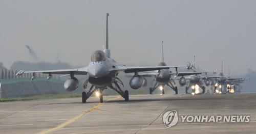 韩空军将单独进行演习弥补韩美联演空缺