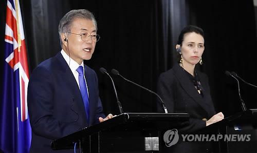 文在寅:借金正恩访韩促无核化获进展更重要