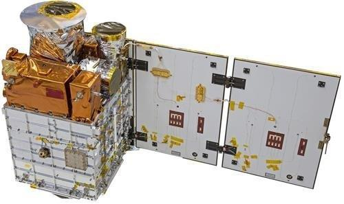"""韩国""""新一代小型卫星1""""号(韩国科学技术信息通信部供图)"""