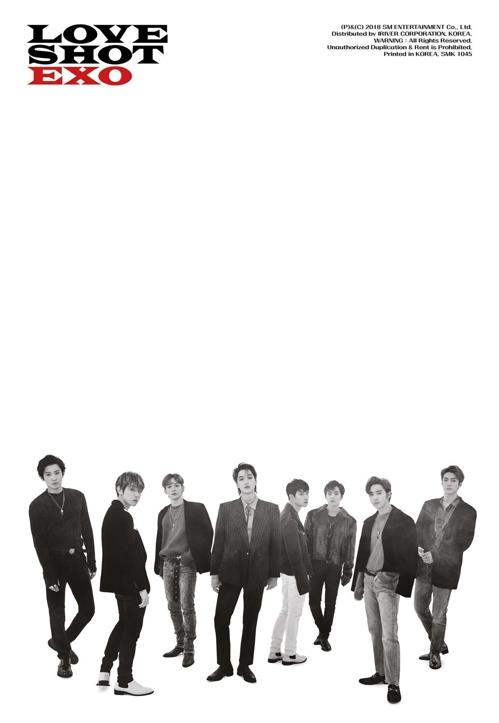 EXO《LOVE SHOT》预告(SM娱乐供图)