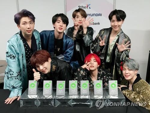 BTS获选彭博全球50大影响力人物