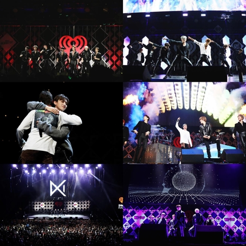 MONSTA X在美Jingle Ball音乐节巡演圆满结束