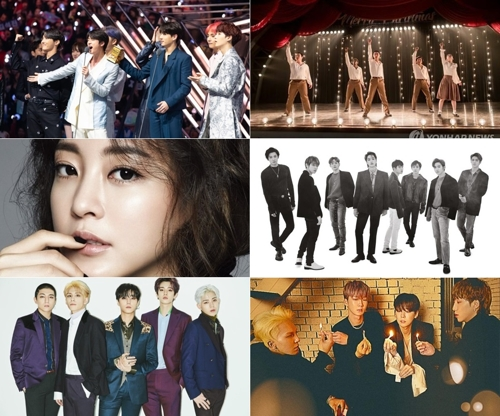 一周韩娱:EXO都敬秀新片热销海外 男团掀回归潮