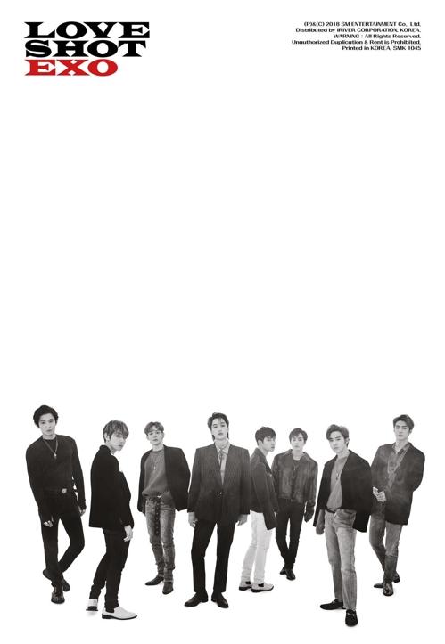 EXO《LOVE SHOT》预告照