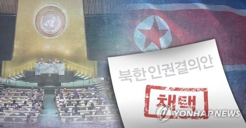 韩外交部就联大通过朝鲜人权决议表态