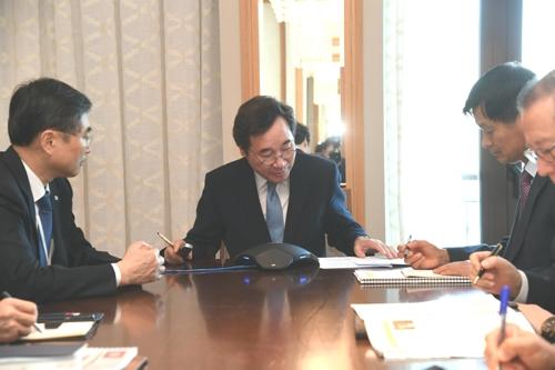 韩总理呼吁利比亚积极营救被绑架韩国公民