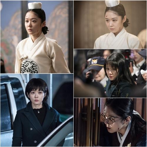 《皇后的品格》剧照(韩联社/SBS供图)