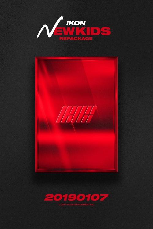 iKON《NEWKIDS》再版专辑海报(YG娱乐供图)