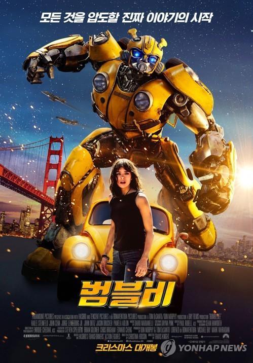 《大黄蜂》海报(乐天娱乐供图)