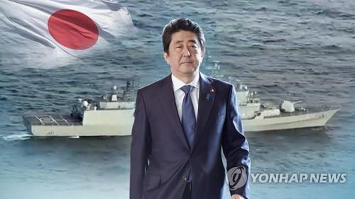 资料图片:日本首相安倍晋三(韩联社)