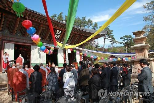 韩朝佛教界互换新年书信共话和平蓝图