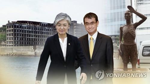 韩日外长通话商定国防渠道弥平雷达分歧