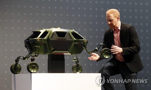 现代汽车的微缩版Elevate概念车(韩联社)