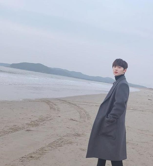 黄旼炫IG截图