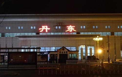 金正恩专列10日凌晨驶入朝鲜境内