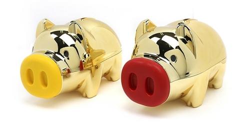 逢己亥猪年金猪储蓄罐在韩热销