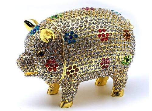 金猪首饰盒(Auction供图)