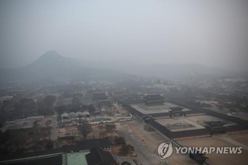 韩连日遭遇严重雾霾 多地启动应急减排措施