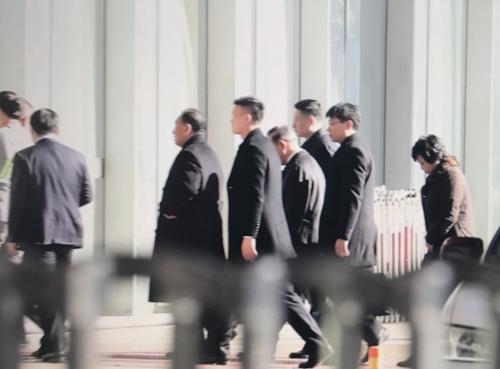 朝鲜高官金英哲乘国航班机离京返朝