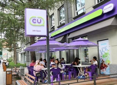 CU在蒙古国的一家分店(CU供图)