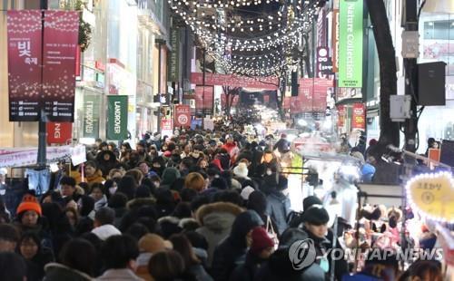 调查:首尔旅游亚洲游客爱明洞欧美人偏好古宫