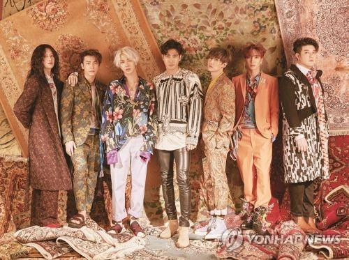 资料图片:Super Junior(韩联社)