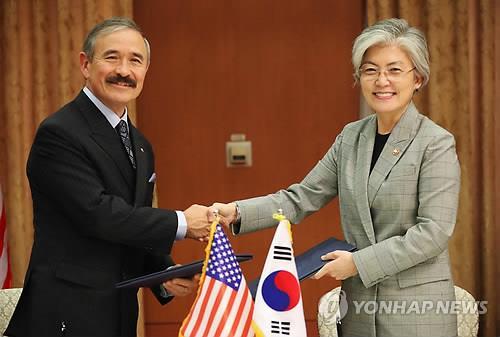 韩外长会美驻韩大使谈军费分摊