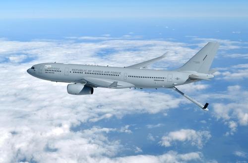 韩军首架空中加油机服役