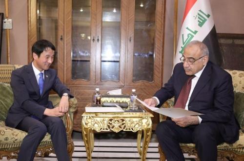 韩总统特使访问伊拉克深化合作