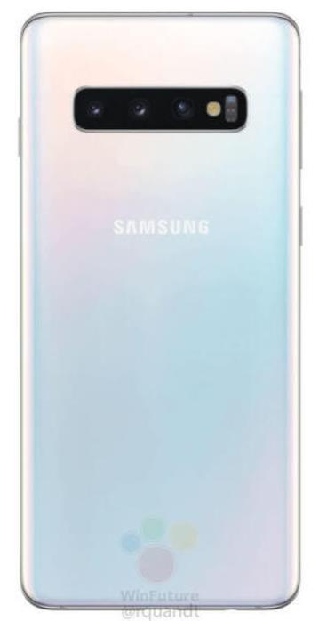 Galaxy S10白色款(WinFuture截图)