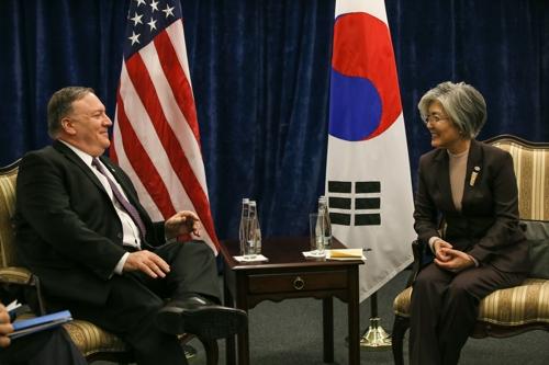 韩美外长在波兰会晤商讨第二次金特会事宜