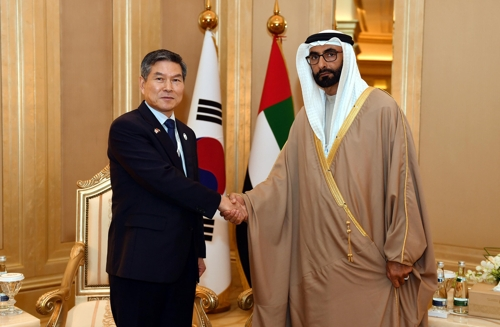 韩阿联酋防长会晤共商国防合作