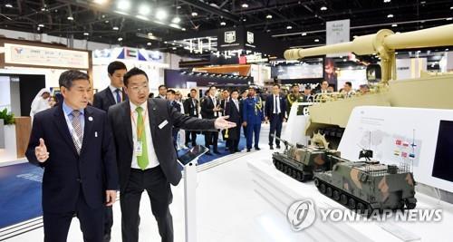 韩国军工亮相中东防务展积极对外推销