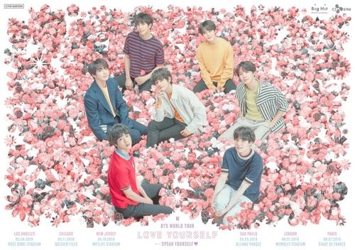 BTS全球巡演海报