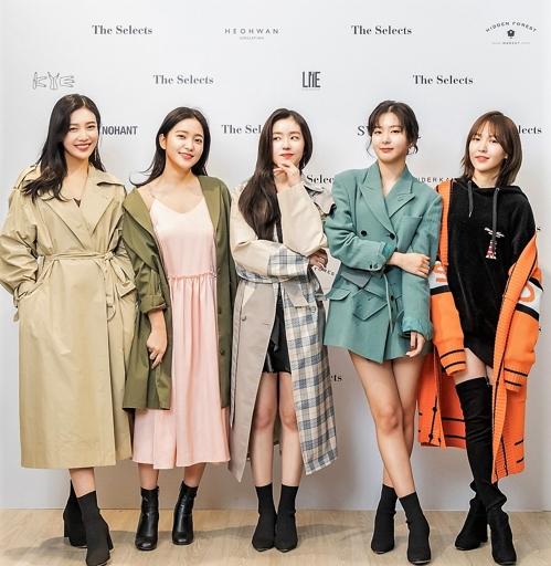 Red Velvet参与韩国时装品牌设计 新品在美公开