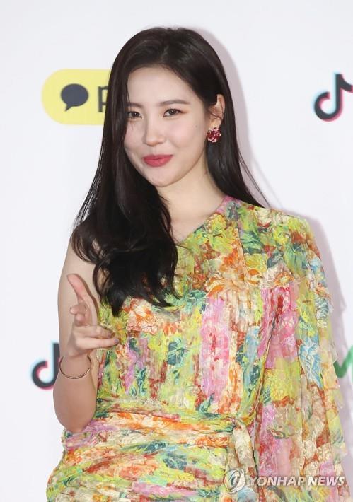 资料图片:歌手宣美(韩联社)