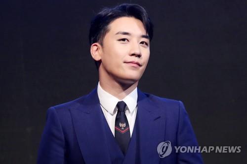 资料图片:BIGBANG老幺胜利(韩联社)
