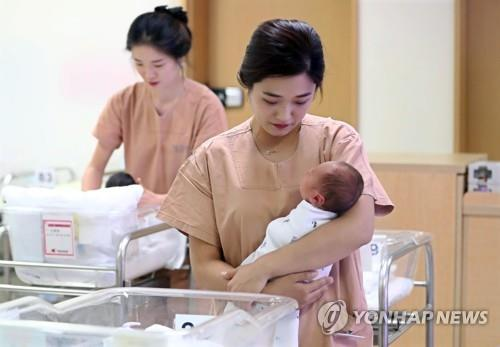 统计:韩总和生育率0.98 人口减速加快