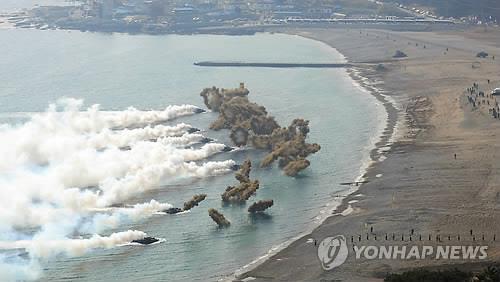 """韩将单独举行""""双龙""""登陆演习 美军完全缺席"""