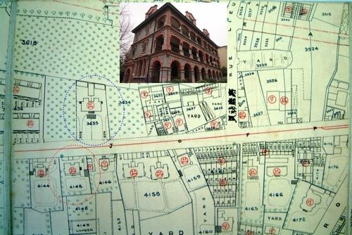 1920年法租界地图(许洪新提供)
