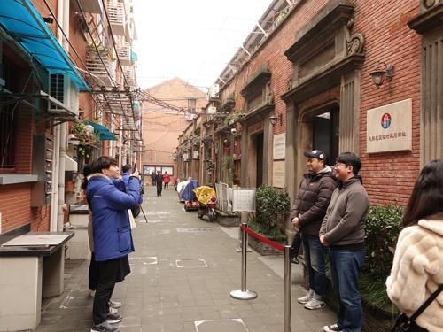 位于上海普庆路的韩国临时政府旧址(韩联社)