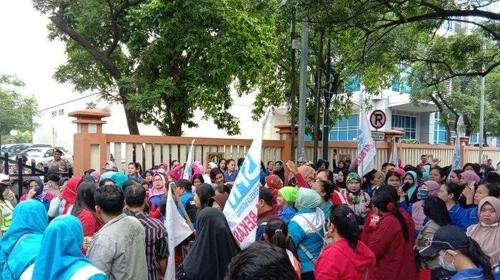 韩国驻印尼使馆:尽早解决韩企老板欠薪事件