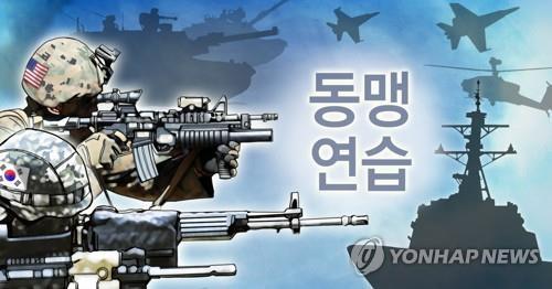 韩防长郑景斗视察韩美新版联演现场 - 2