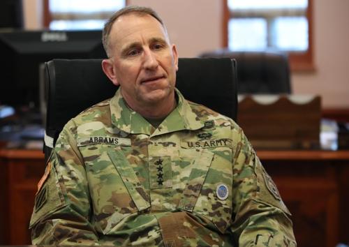 驻韩美军司令:驻军问题与和平协定是两码事